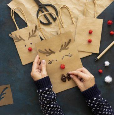 papieren tasjes maken